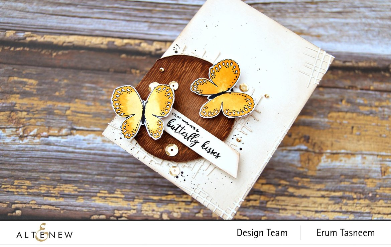 Altenew Butterfly Kisses Stamp Set | Erum Tasneem | @pr0digy0
