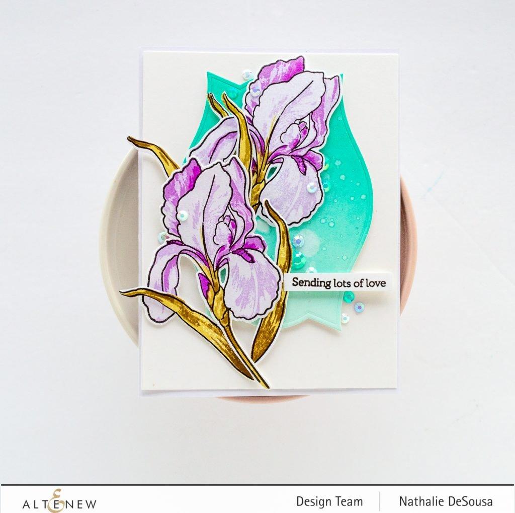 @altenew_Build-A-Flower stamp set by Nathalie DeSousa