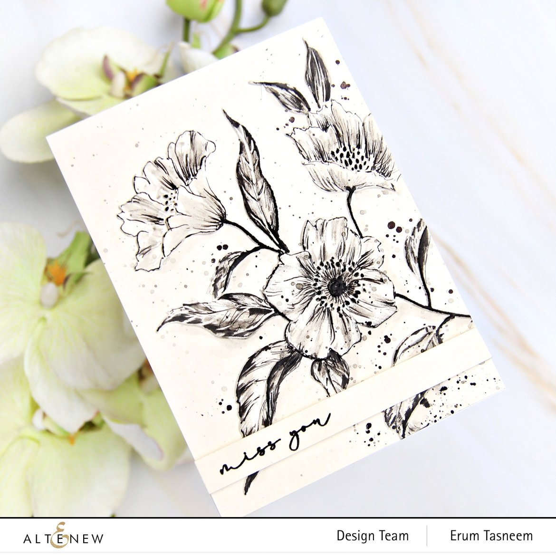 Altenew Craft Your Life Project Kit: Hello Beautiful   Erum Tasneem   @pr0digy