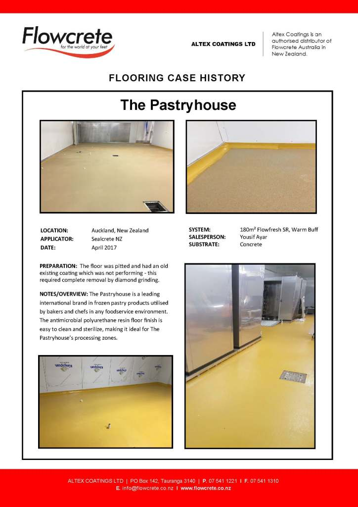 The Pastryhouse - Flowcrete