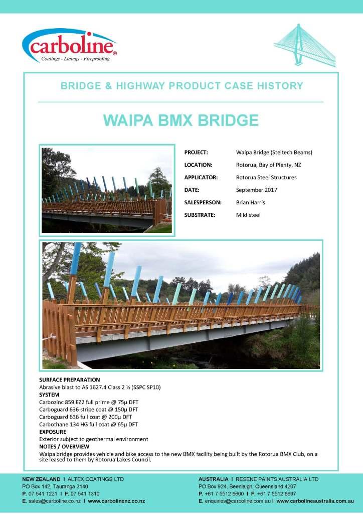 Waipa BMX Bridge