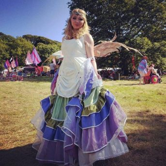 BELLE OF THE BALL: Charlie at 3 Wishes Faery Fest.