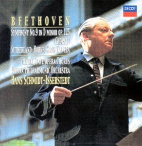 Beethoven: Symphony No.9 Choral Joan Sutherland, Marilyn Horne, James King, Matti Talvela, Vienna State Opera Chorus, Hans Schmidt-Isserstedt / Vienna Philharmonic Orchestra