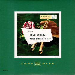 ルービンシュタインのショパン、二度目の『スケルツォ』のレコード。