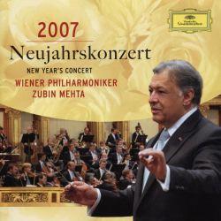 ニューイヤーコンサート ウィーン・フィルと蜜月にあるメータの軽やかなシュトラウスを聴く。