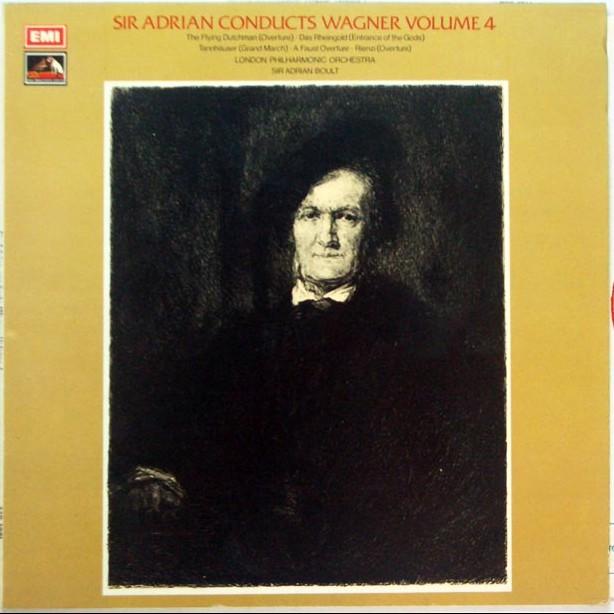指揮者、85歳。大人の春画 ― サー・ボールト指揮ロンドン・フィル ワーグナー・管弦楽曲第4集