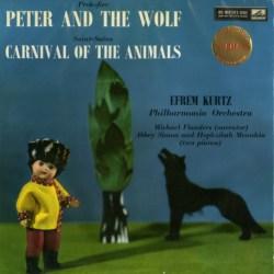 本場の指揮者でジックリと ― クルツ指揮フィルハーモニア管 サン=サーンス《動物の謝肉祭》、プロコフィエフ《ピーターと狼》