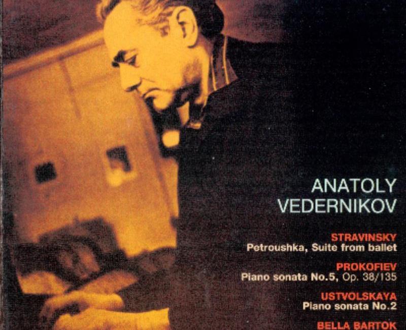 ピアノの学習者には良い手本となる – Stravinsky, Prokofiev, Ustvolskaya, Bartok – Piano Works – Vedernikov