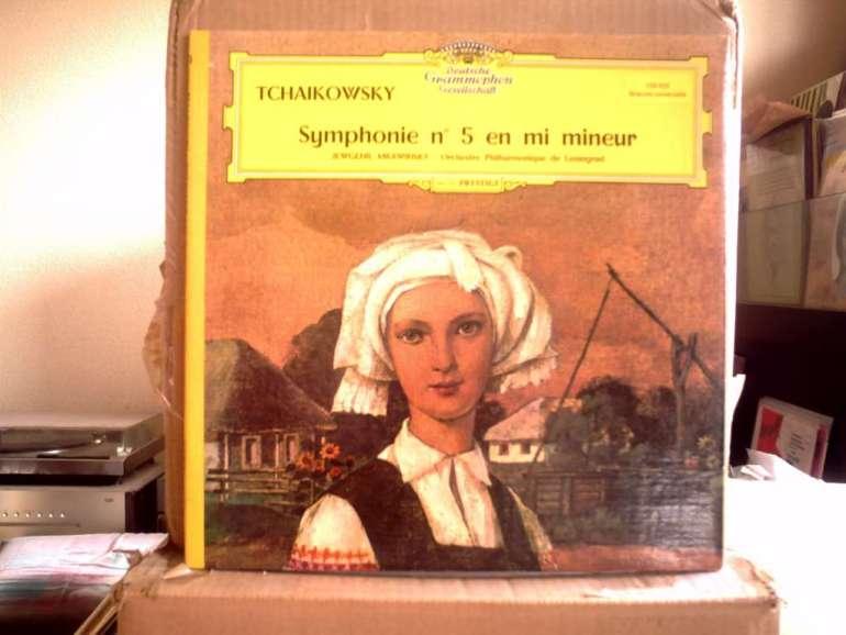 Deutsche Grammophon SLPM138 658 - Mravinsky - Tchaikovsky : Symphony No.5