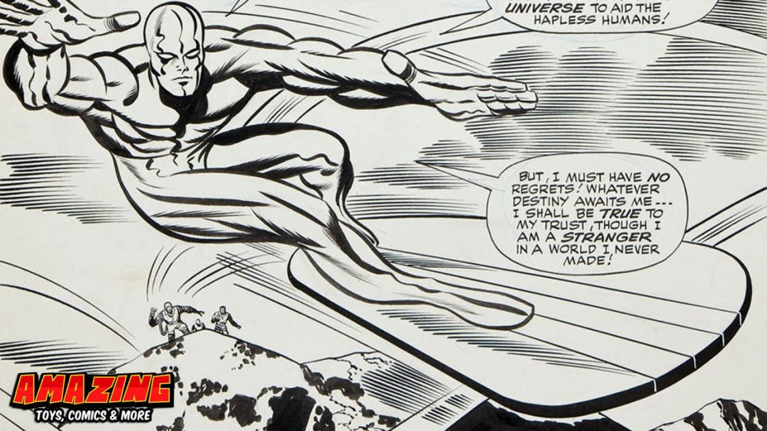Der Reiz von Original Comicseiten