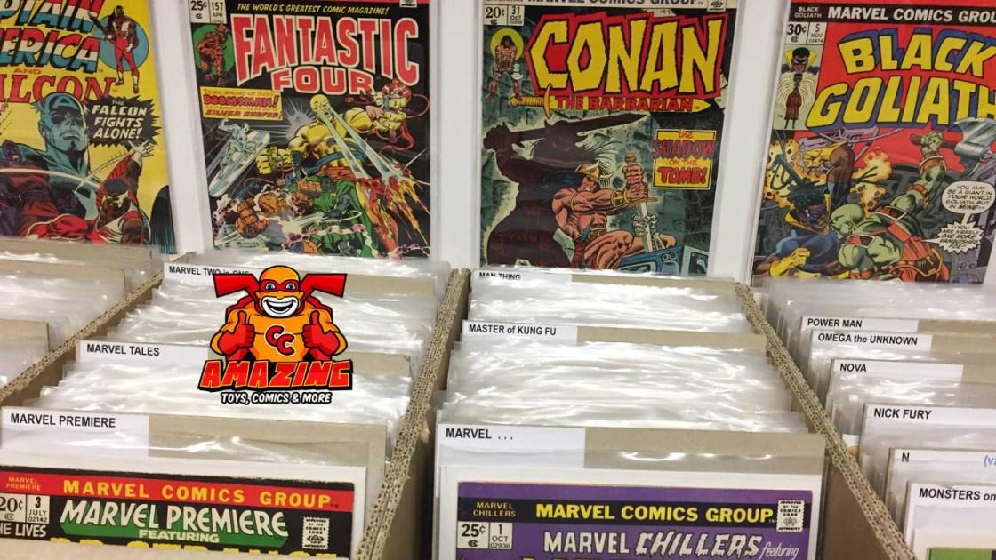 Der alltägliche Wahnsinn im Comicshop Amazing