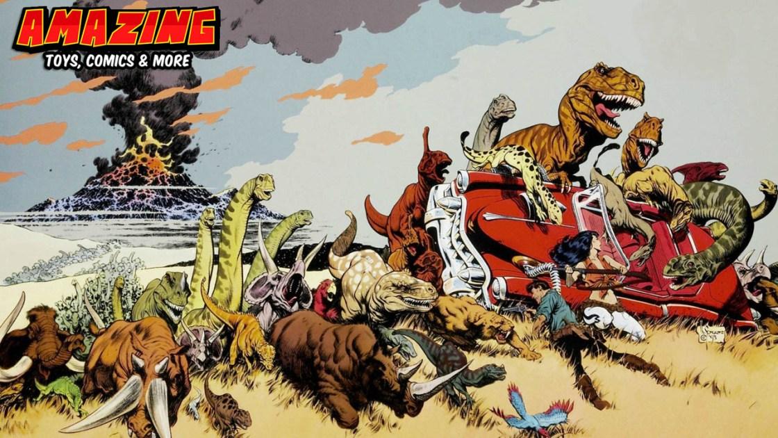 Dinos und andere Urviecher in Comics