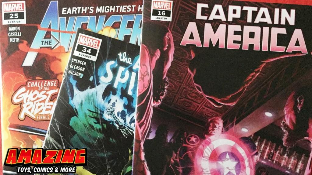 Marvels Vermächtnis der Legacy Nummern
