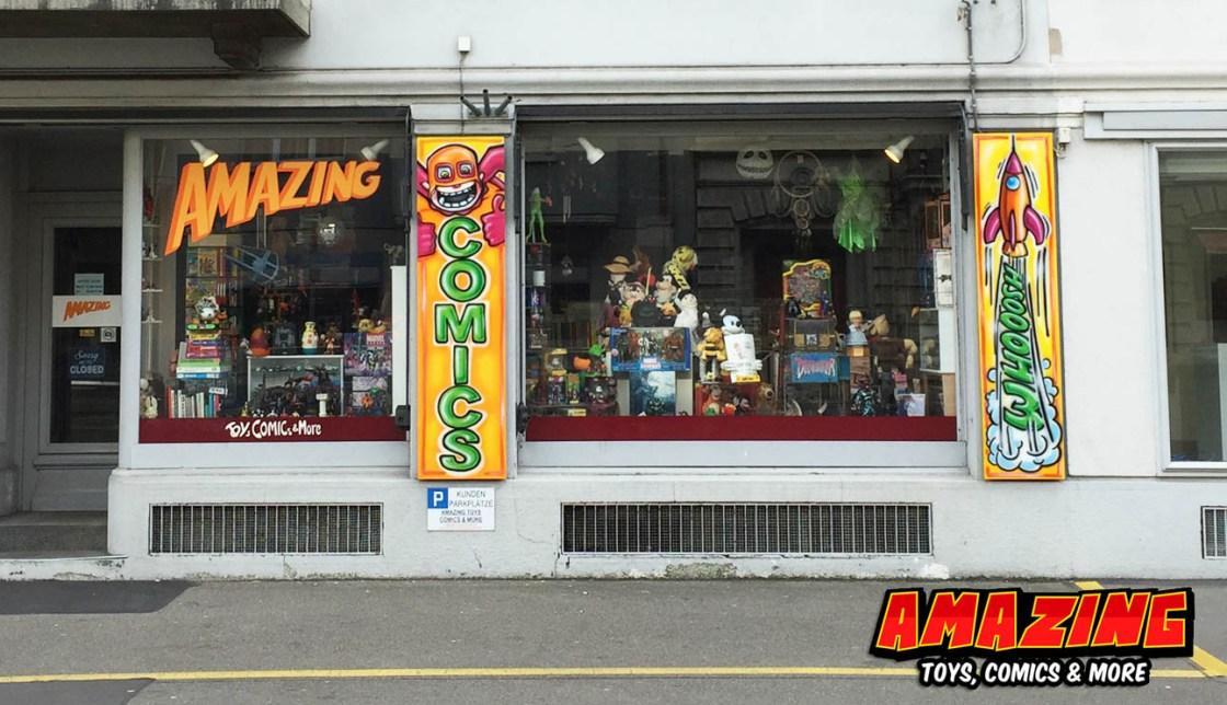 The Origin of Comic Shop Amazing