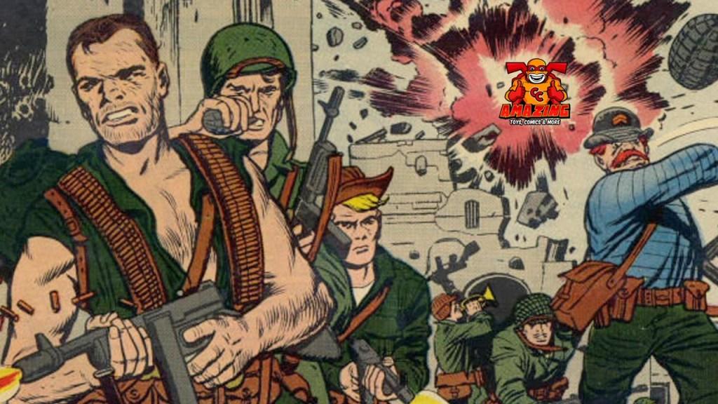 Marvels vergessene Kriegscomics