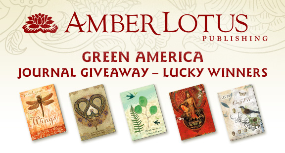 Amber Lotus Journal Give-Away
