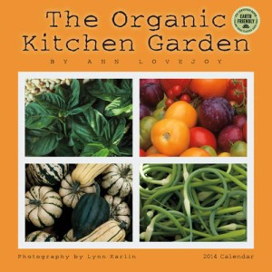 Organic Kitchen Garden 2014 wall calendar