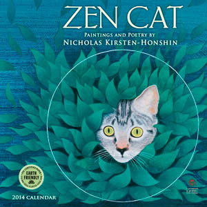 Zen Cat 2014 mini calendar