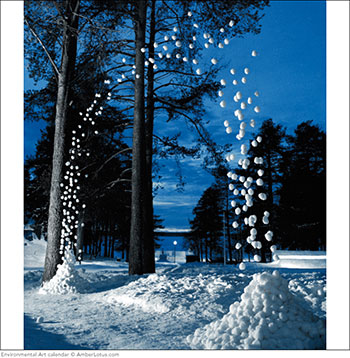 Environmental Art 2015 wall calendar