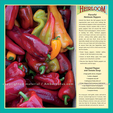 Image from our Farm to Table 2016 wall calendar featuring recipes and tips from Ann Lovejoy. Click image for more info.