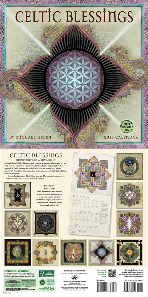 Celtic Blessings by Michael J. Green