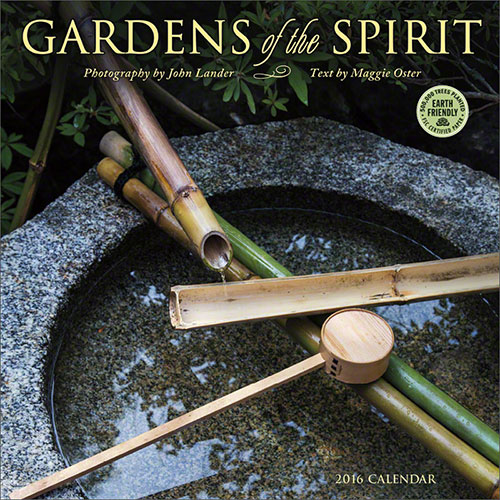 Gardens of the Spirit 2016 wall calendar