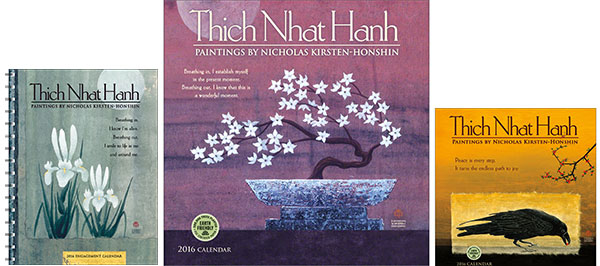 Thich Nhat Hanh 2016 calendars
