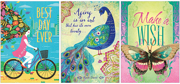 New Spring Greeting Cards from Amber Lotus Publishing