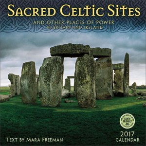 Sacred Celtic Sites wall calendar