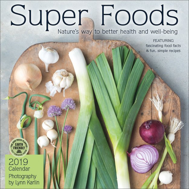 Super Foods 2019 Wall Calendar