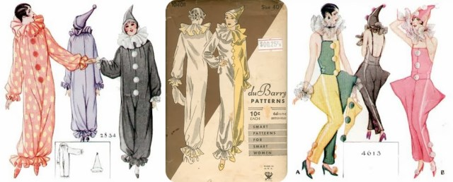 1920s clown costume