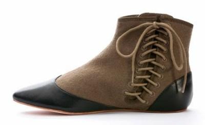 victorian boots side-lace boots gaiters civil war shoes