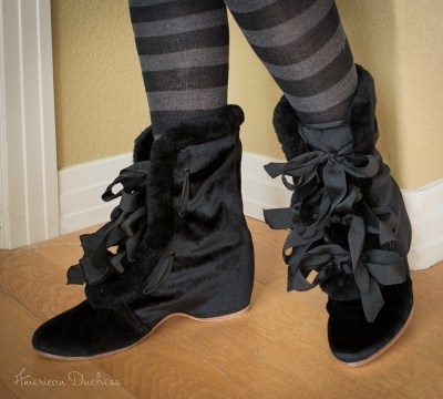 Victorian Carriage Boots by American Duchess
