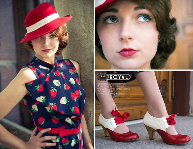 Royal Vintage Shoes 1930s Photo Shoot