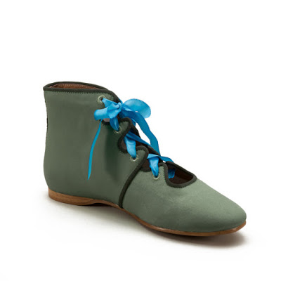 Manchester Regency Boots in green by American Duchess