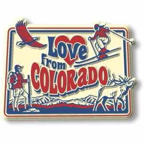 love from colorado magnets
