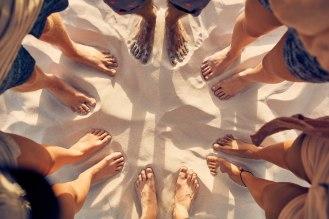 Barefoot sand benefits amn academy blog