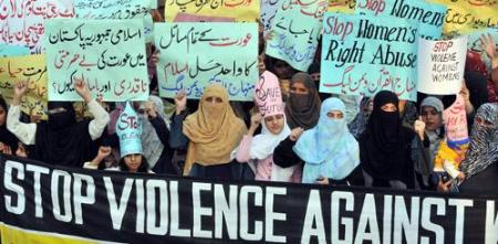 honor killings protest pakistan