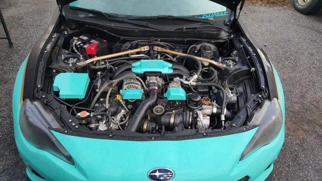 Heather K BRZ Engine