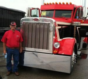 Hard Working American Trucker