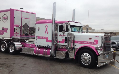 Trucks & truckers dedicated to a cause
