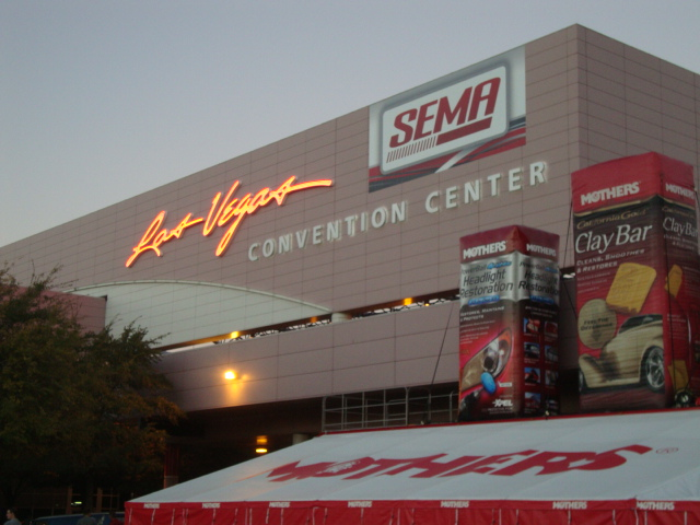 SEMA las vegas convention center