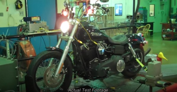 AMSOIL VTwin Motorcycle Test