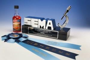 amsoil wins sema award