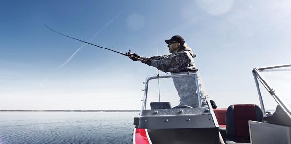 Fishing, casting