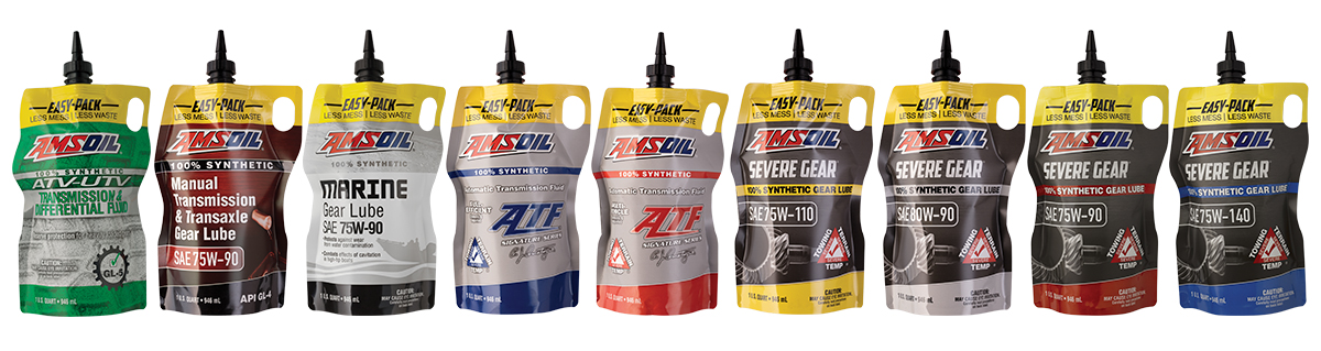 Amsoil Severe Gear 75w 90 >> More Amsoil Products Available In The Award Winning Easy Pack