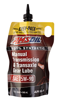 AMSOIL manual transmission fluid.