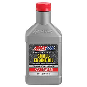 Motor oil for lawnmower