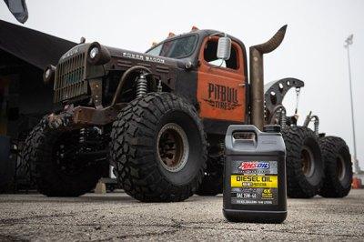 Kenny Hauk Power Wagon | Diesel Oil in gas engine