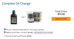 Which AMSOIL to use – AMSOIL product guides tell you.